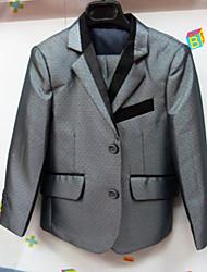 Комбинирование ткани (полиэфир/хлопчатник) Детский праздничный костюм - 3 Куски Включает в себя Жакет / Жилет / Брюки