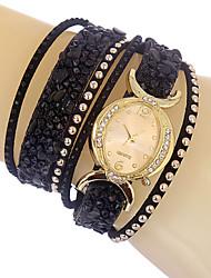 Luxury Ladies Wristwatch Hot Bracelet Women Watches Rivet Dress Watch Montre Femme Colored Stone Quartz Watch Clock Cool Watches Unique Watches