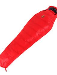 Спальный мешок Кокон Односпальный комплект (Ш 150 x Д 200 см) -10℃ Утиный пух 1100 г 210X80 Путешествия Сохраняет тепло CAMEL
