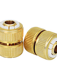 SELLERY #4 Inner Dia 12mm/Outer Dia 16mm Hose Connector Pure Brass Garden Tool