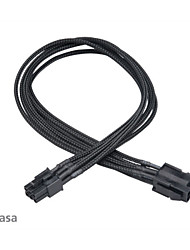 Akasa FLEXA V6 Power Extension Cable - 6 Pin Internal Power (M) - 6 Pin Internal Power (F) - 40 cm