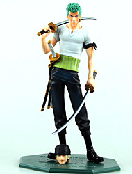 One Piece Roronoa Zoro 21CM POP Doll Model Anime Action Figures