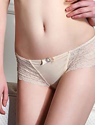 Meiqing® Feminino Calções e Calcinhas de Homem Algodão / Elastano - M16SK10