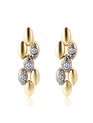 Full Crystal Zircon Earrings Drop Earrings for Women Elegant Earrings Fashion Jewelry Accessories