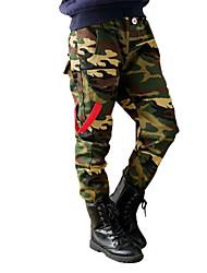 Pantaloni Maschile Con stampe Per tutte le stagioni / Primavera / Autunno Cotone