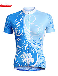 TASDAN Cycling Jersey Women's Short Sleeve Bike Breathable Quick Dry Ultraviolet Resistant Sweat-wickingJersey Jersey +