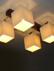 Max 40W Modern/Contemporary Painting Metal Flush Mount Living Room / Bedroom / Dining Room