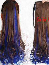 Most Popular Double Color Fashion Tether Pear Volume Horsetail hair