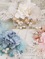 Women's Fabric Headpiece - Wedding Flowers 1 Piece