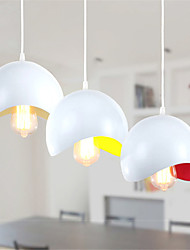 Max 60W Contemprâneo Estilo Mini Pintura Metal Luzes PingenteSala de Estar / Quarto / Sala de Jantar / Cozinha / Quarto de