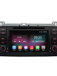 7 Inch 1 Din In-Dash Car DVD Player For BMW E46 1998-2005 with Quad Core CPU Pure Android 4.4 OS GPS Navigation