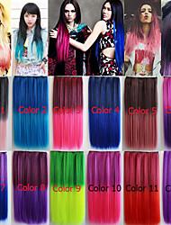 Европа и Соединенные Штаты парик Harajuku градиент цвета чип
