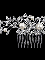 The New Combs Set Auger Pearl Alloy Bride Dish Hair Selling Jewelry