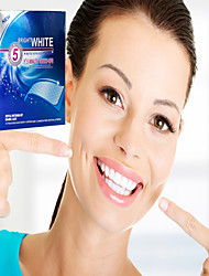56 Pieces Teeth Whitening Strips (28 upper and 28 lower)