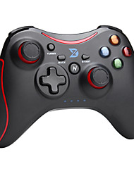 zhidong® nero& controller wireless n rosso per ps3 / telefono Android box / tv / pc