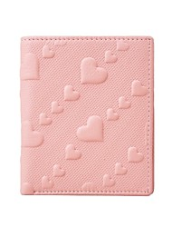 Victory Polo Women's Cowhide Heart-shaped Embossing Wallet