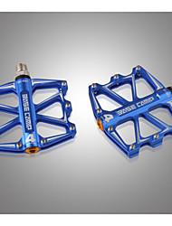 MTB Mountain Bike Pedals Flat Aluminum Alloy Platform Sealed Bearing