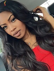 Joywigs Fashion Body Wave Brazilian Virgin Hair Lace Front Wig