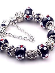 Bracelet Charmes pour Bracelets Bracelets Vintage Alliage Autres Original Mode Soirée Quotidien Décontracté Bijoux Cadeau Noir,1pc