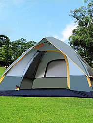 SHAMOCAMEL Waterproof / Ultraviolet Resistant Polyester One Room Tent Army Green