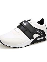 Sapatos Fitness Feminino Preto / Vermelho / Branco Courino