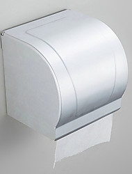 Bevel Contemporary Stainless Steel Chrome Wall Mounted Toilet Paper Holder