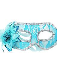 женщин сексуальный цветок кружева& перья маска для лица для танцы