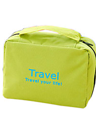 Toiletry Bag Cosmetic Bag Waterproof Hanging Portable Multi-function for Travel StorageOrange Red Green Blue Blushing Pink
