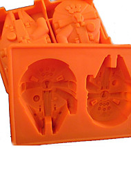 Silicone Ice Tray Licensed Millennium Falcon Chocolate Mould