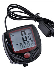 Cycling Computer Leisure 14-Functions Waterproof Odometer Speedometer With LCD Display Bike Speedometer