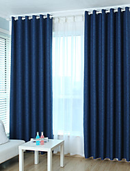Two Panel Europe Contracted Fashion Style Of Children Room Sitting Room Bedroom Linen Jacquard Curtains