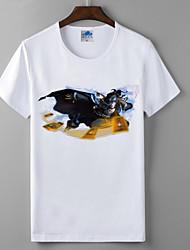 lol League of Legends de lycra de algodão t-shirt cosplay Master Card marcia