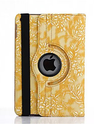 360 Degree Grape Grain PU Leather Flip Cover Case for iPad 4/3/2(Assorted Colors)