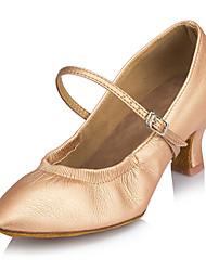 Scarpe da ballo-Personalizzabile-Da donna-Balli latino-americani / Tip tap / Moderno / Samba-A stiletto-Finta pelle-Nero / Argento /