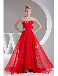 Formal Evening Dress-Ruby A-line Sweetheart Floor-length Chiffon