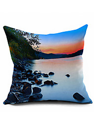 2016 New Arrival  Cotton/Linen Pillow Cover , Nature Modern/Contemporary Pillow Linen Cushion