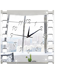 Rectangulaire / Autres Moderne/Contemporain / Traditionnel / Rustique / Antique / Casual / Rétro / Office/Business / Autres Horloge murale