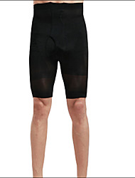 Shaperdiva Men's High Waist Trainer Bodysuit Strong Shaping Underwear Shorts Slim Fit Boxer Pants