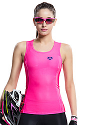 SANTIC Cycling Tops / Vest / Tank / Jerseys Women's Bike Breathable / Ultraviolet Resistant / Quick Dry / Limits Bacteria SleevelessHigh