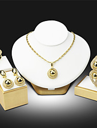 Party-Damen-Halskette / Ohrring / Armband / Ring(Legierung)