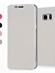 Für Samsung Galaxy Hülle mit Halterung / Flipbare Hülle Hülle Handyhülle für das ganze Handy Hülle Einheitliche Farbe PU - Leder Samsung