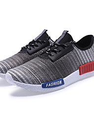 Men's Shoes Casual Fabric Fashion Sneakers Blue / Red / Gray