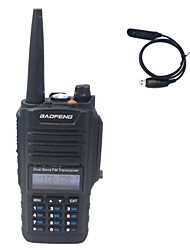 BaoFeng BF-A58+Programming cable Talkie-Walkie 5W(H)/4W(M)/1W(L) 128 400 - 470 MHz / 136 - 174 MHz Li-ion battery 1800mAh 3 - 5 kmAlarme