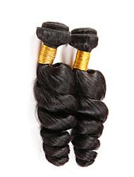 nova chegada 3Bundles peruano cabelo virgem tecer Natural solto onda negra cabelo humano virgem não transformados tece.