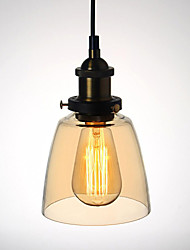 Max 60W Pendant Lights Traditional/Classic / Vintage / Retro / Country / Globe / Living Room / Bedroom / Dining Room
