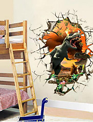 Tiere Wand-Sticker 3D Wand Sticker,PVC 50*50*10cm