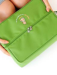 Packing OrganizerForTravel Storage Fabric Grey / Blue / Green / Red 22*20*5cm