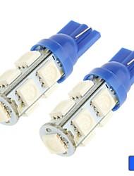 2pcs 12V 3.5W t10 5050 7smd Lampe führte Lesen, LED-Lampe Tür mit superhellen weißen