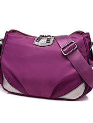Women Nylon Hobo Shoulder Bag / Satchel / Coin Purse / Storage Bag / Sports & Leisure Bag-Purple / Blue/ Black