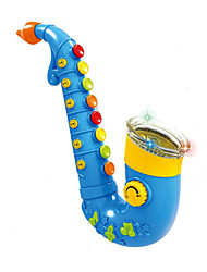 Saxophone Multi-Function ABS Blue / Pink  Music Toy